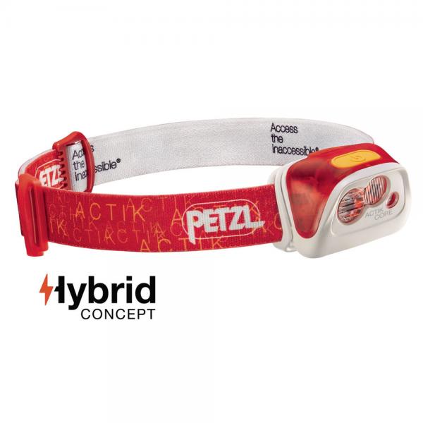 Petzl Actik Core rot