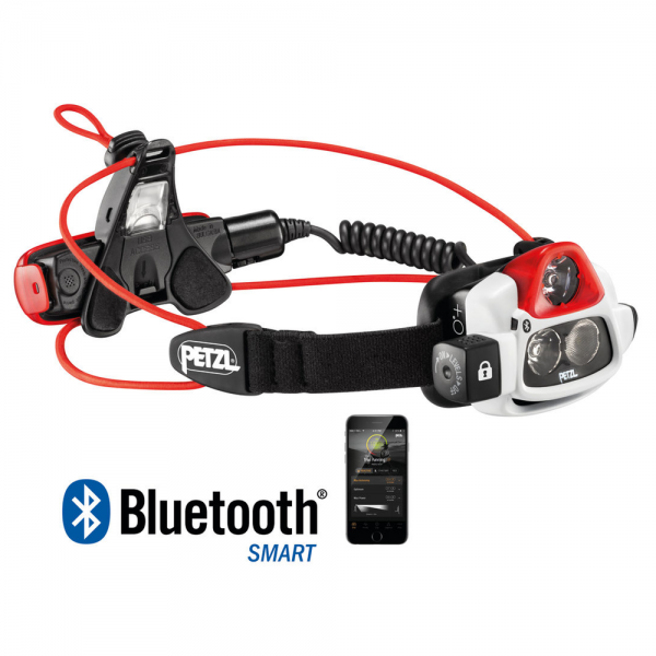 Petzl Nao + LED Stirnlampe mit Bluetooth