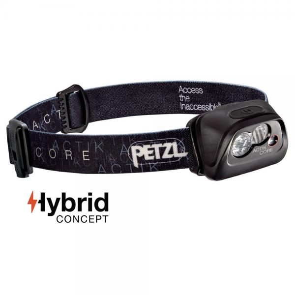 Petzl Actik Core schwarz
