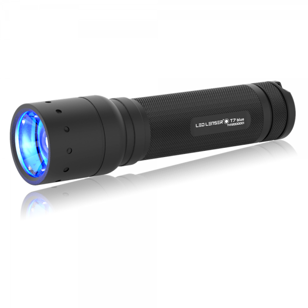 Ledlenser T7 blue Spurensicherung LED Taschenlampe
