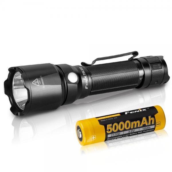 FENIX TK22 V2.0 LED Taschenlampe inklusive ARB-L21-5000 21700 LiIon Akku