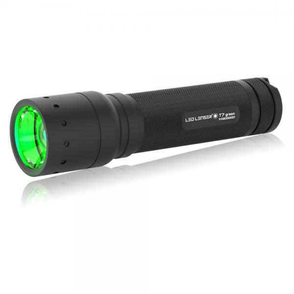 Ledlenser T7 green Wildtier Jagd LED Taschenlampe