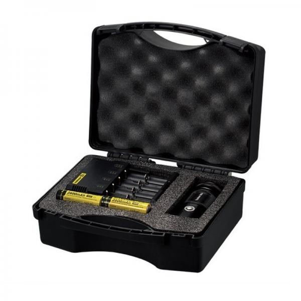Nitecore TM06S CREE XM-L2 U3 LED LED Taschenlampen Set im Koffer