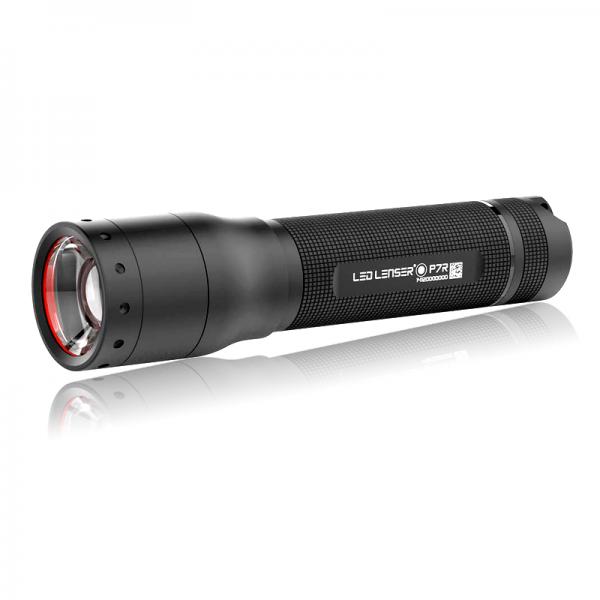 LED LENSER P7R wiederaufladbare LED Taschenlampe