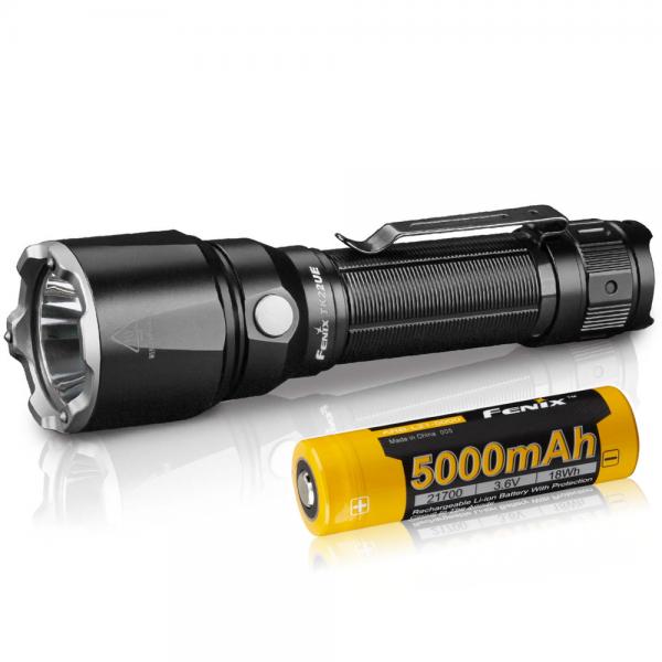 FENIX TK22 UE LED Taschenlampe inklusive ARB-L21-5000U 21700 LiIon Akku